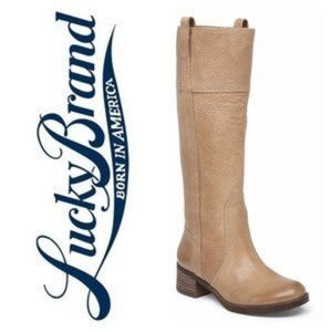 Lucky Brand | NWT Hibiscus Riding Boots
